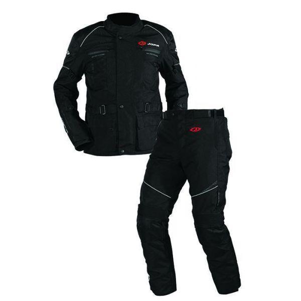 Combo ATV Jopa Combinezon ATV Omega V2 Geaca + Pantaloni Black