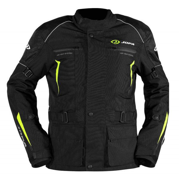 Geci ATV Jopa Geaca ATV Omega V2 Black/Yellow Fluo