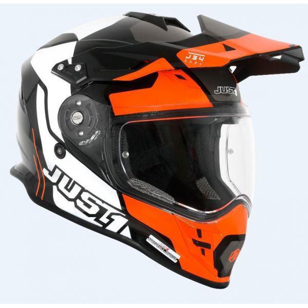 Casti ATV Just1 Casca ATV J34 Tour Orange/Black 2021