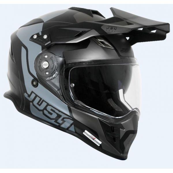 Casti ATV Just1 Casca ATV J34 Tour Titanium/Black 2021