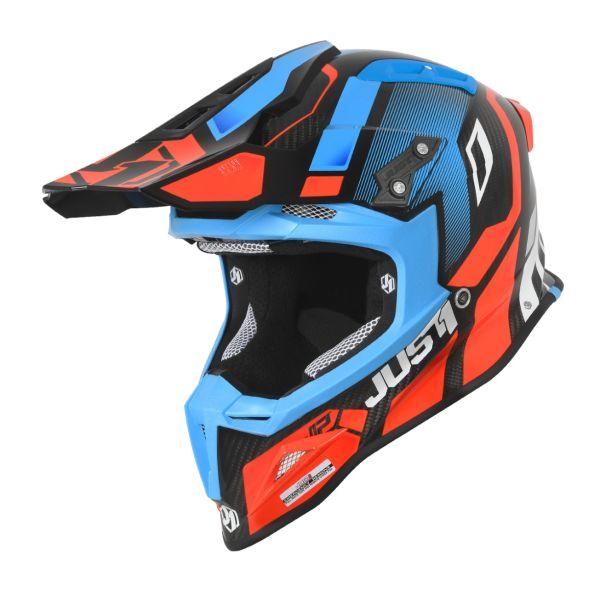 Just1 Casca J12 Vector Orange/Blue/Carbon 2020