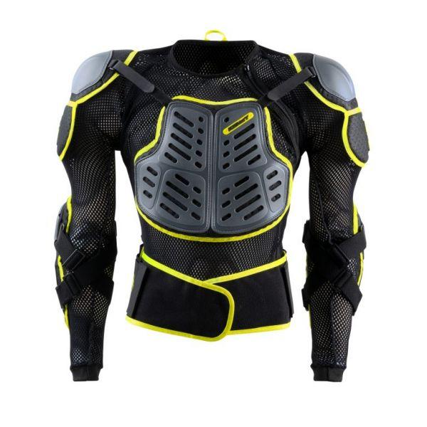 Protectii MX-Enduro Copii Kenny Armura Moto MX Copii Track Safety Negru/Neon Galben