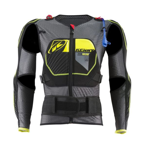 Armuri Moto-Integrale Kenny Armura Moto MX Titanium Black/Yellow 2019