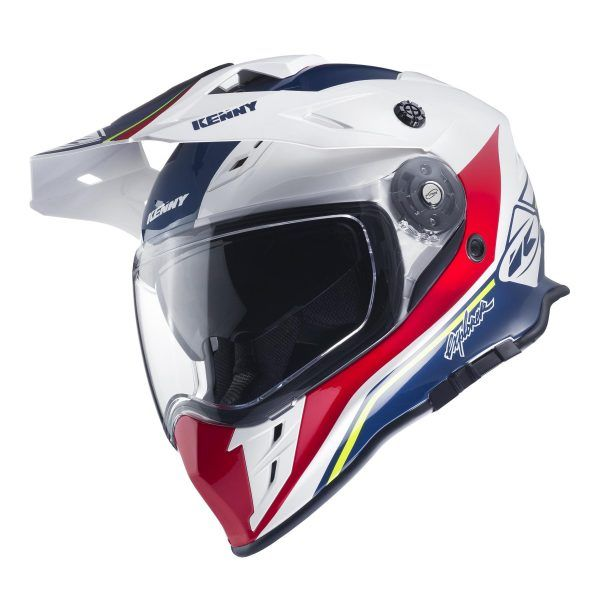 Casti ATV Kenny Casca ATV Explorer White/Red