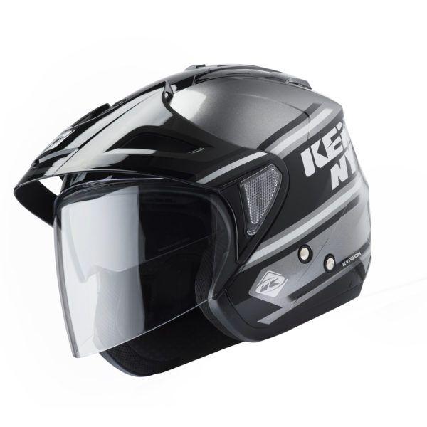 Kenny Casca Jet Evasion Black/Gray 2019