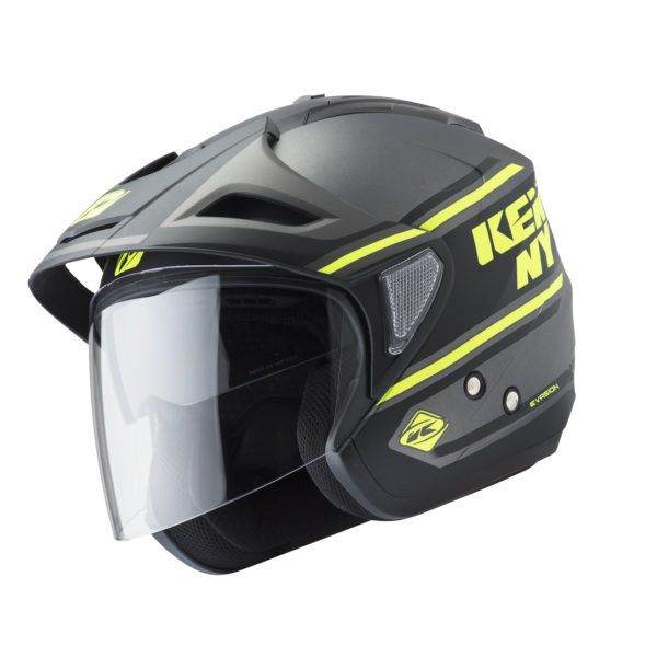 Kenny Casca Jet Evasion Black/Yellow Fluo 2019