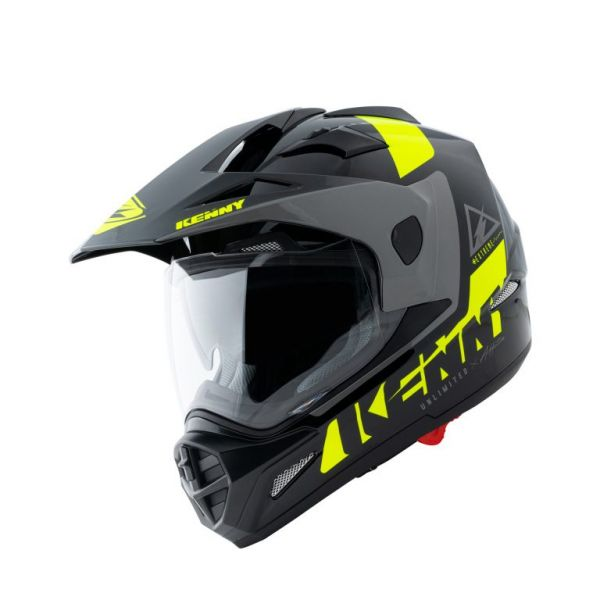 Casti ATV Kenny Casca Moto ATV Extreme Black Neon Yellow 2021