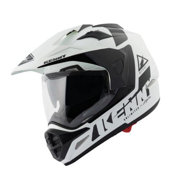 Casti ATV Kenny Casca Moto ATV Extreme White/Black 2021