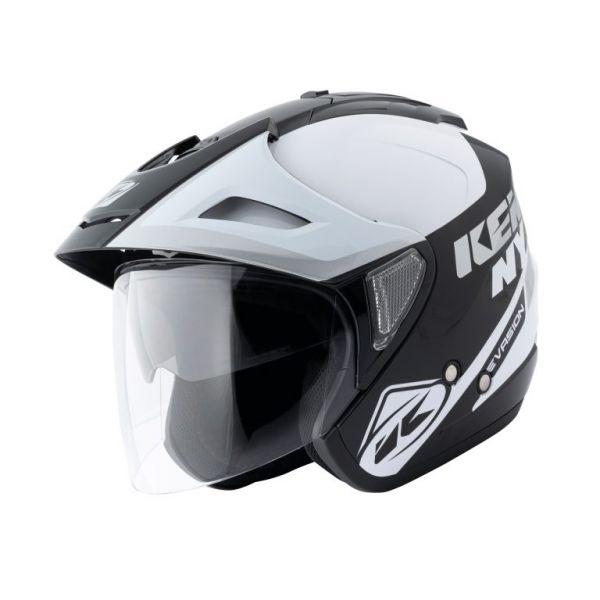 Casti Moto Jet (Open Face) Kenny Casca Moto Jet Evasion White 2021