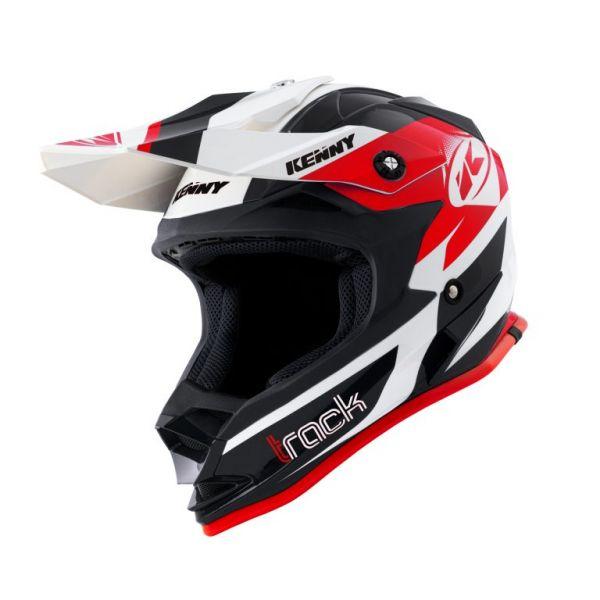 Casti MX-Enduro Copii Kenny Casca Moto MX Copii Track Black Red 2021
