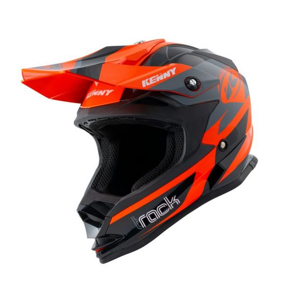 Casti MX-Enduro Copii Kenny Casca Moto MX Copii Track Orange 2021