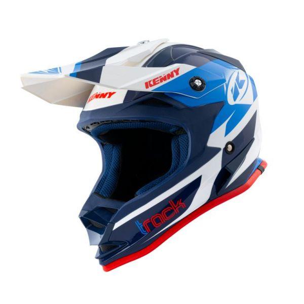 Casti MX-Enduro Copii Kenny Casca Moto MX Copii Track Patriot 2021