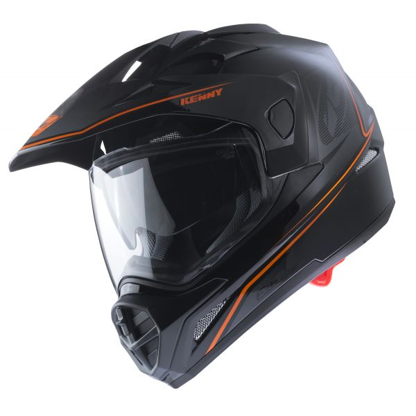 Casti ATV Kenny Casca S7 Extreme Black/Orange