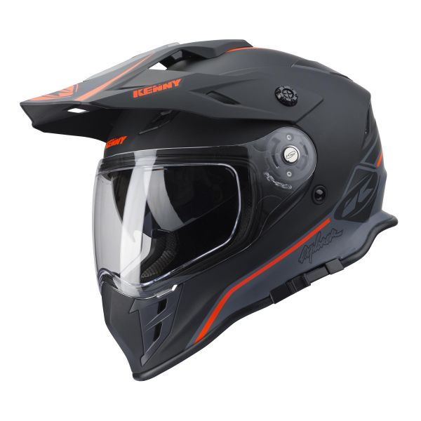 Casti ATV Kenny Casta ATV Explorer Black/Orange