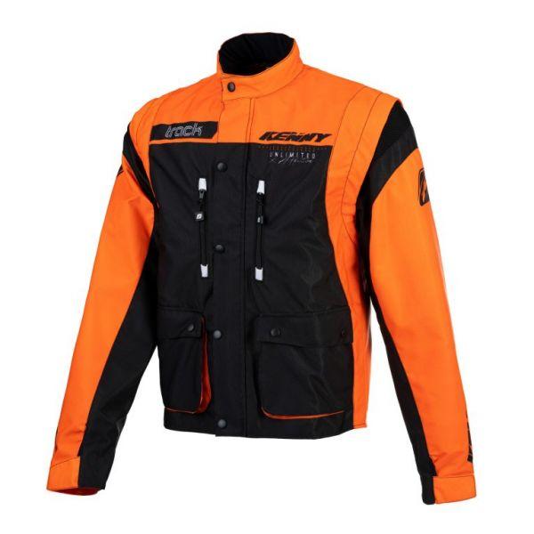 Geci Enduro Kenny Geaca Moto MX Track Black Orange 2021