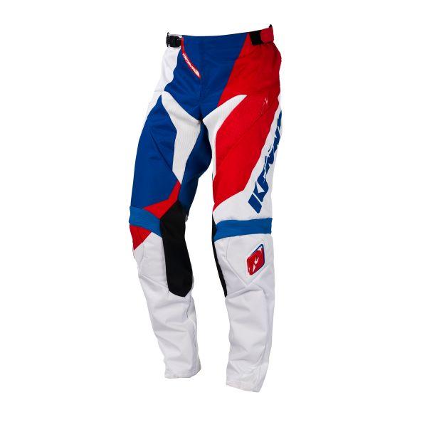 Pantaloni MX-Enduro Kenny LICHIDARE STOC Pantaloni Performance Blue/White