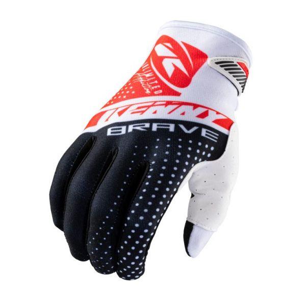 Manusi MX-Enduro Kenny Manusi Moto MX Brave Black White Red 2021
