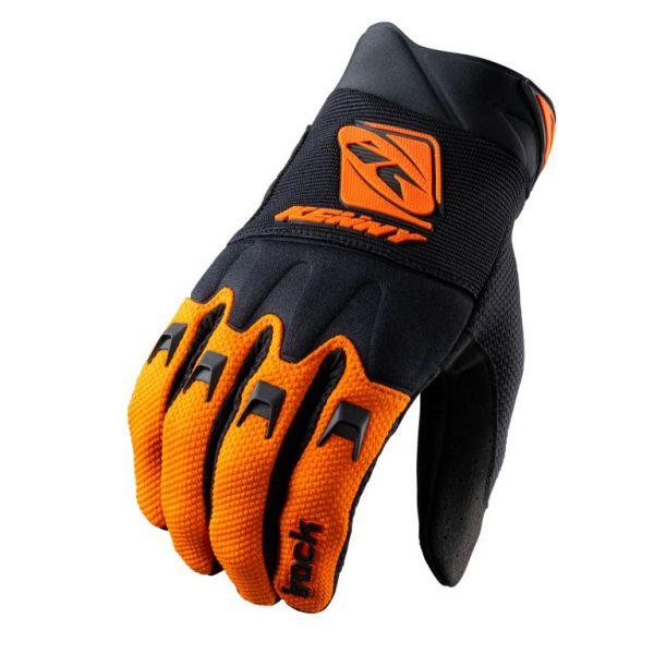 Manusi MX-Enduro Copii Kenny Manusi Moto MX Copii Track Black Orange 2021