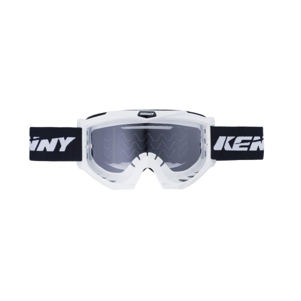 Ochelari MX-Enduro Kenny Ochelari Track White Clear Lens