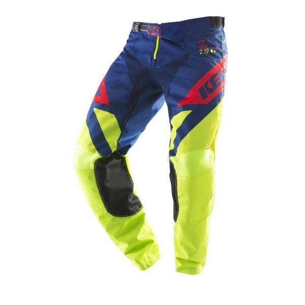 Pantaloni MX-Enduro Copii Kenny Pantaloni Copii Track Lime/Navy/Red S9