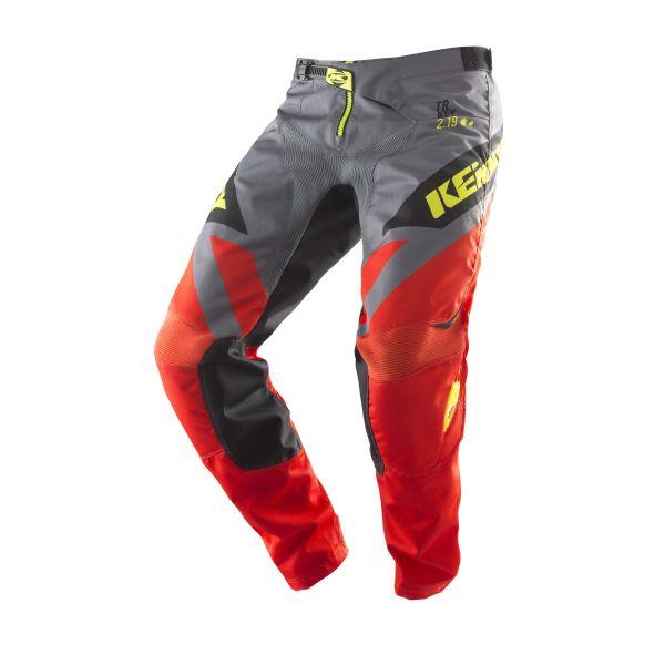 Pantaloni MX-Enduro Copii Kenny Pantaloni Copii Track Orange/Grey/Yellow S9