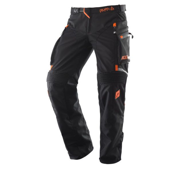 Pantaloni ATV Kenny Pantaloni Dual Sport Black/Orange 2020