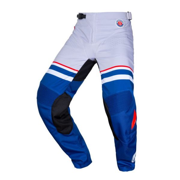 Pantaloni MX-Enduro Kenny Pantaloni Moto MX Outsiders Grey Blue 2020