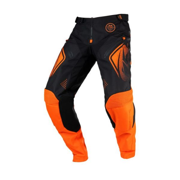 Pantaloni MX-Enduro Kenny Pantaloni Moto MX Titanium Black Orange 2021