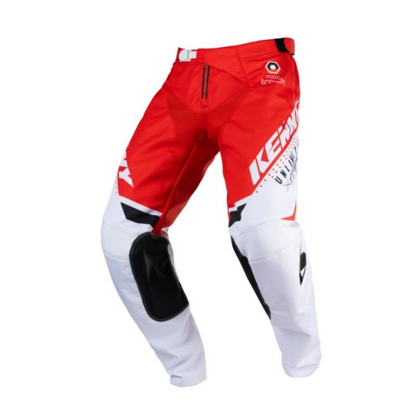 Pantaloni MX-Enduro Kenny Pantaloni Moto MX Track Focus Adulte Red 2021