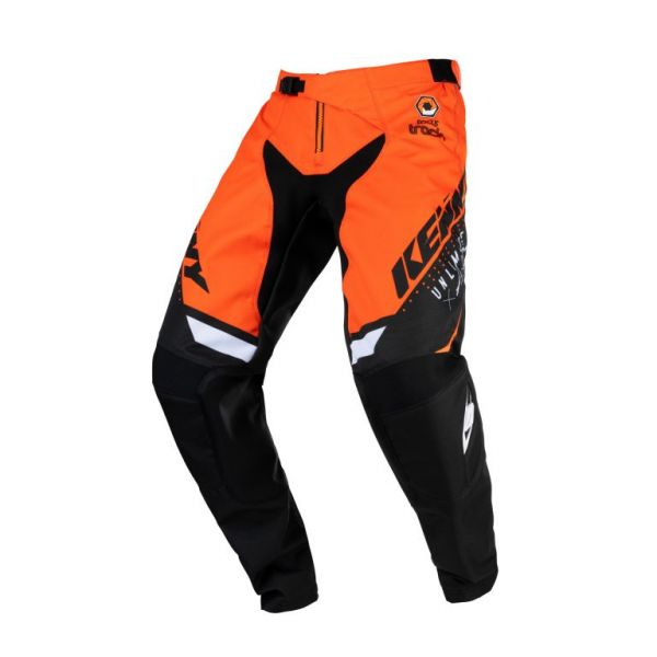 Pantaloni MX-Enduro Copii Kenny Pantaloni Moto MX Track Focus Kid Orange 2021