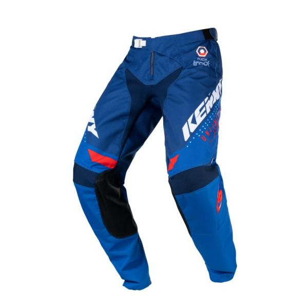 Pantaloni MX-Enduro Copii Kenny Pantaloni Moto MX Track Focus Kid Patriot 2021
