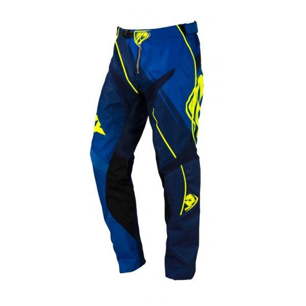 Pantaloni MX-Enduro Kenny LICHIDARE STOC Pantaloni MX Track S6 Blue Neon Yellow