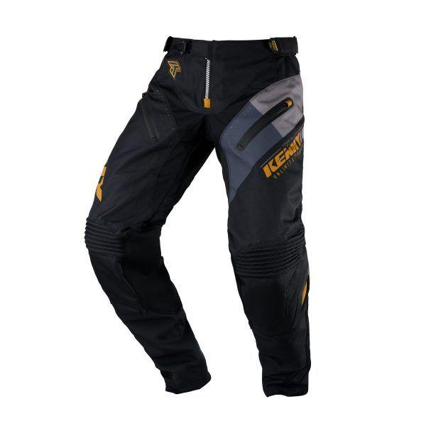 Pantaloni MX-Enduro Kenny Pantaloni Titanium Black/Gold S20