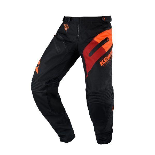 Pantaloni MX-Enduro Kenny Pantaloni Titanium Black/Orange S20