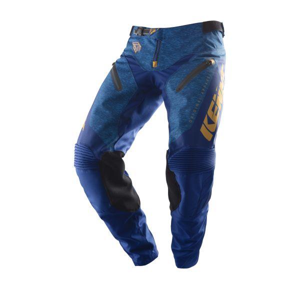 Pantaloni MX-Enduro Kenny Pantaloni Titanium Gold Heather Blue 2019