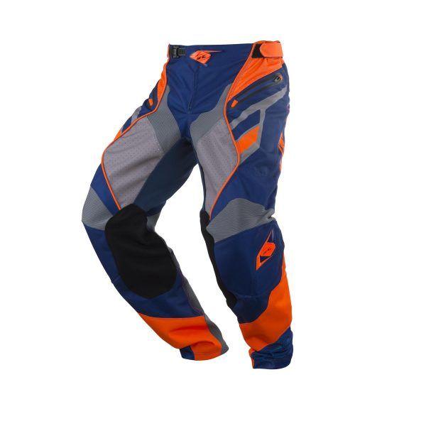 Pantaloni MX-Enduro Kenny Pantaloni Titanium Navy/Orange S18