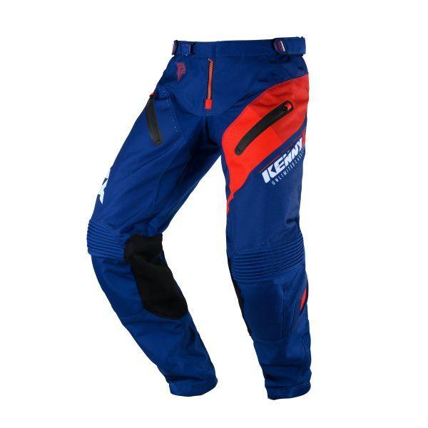 Pantaloni MX-Enduro Kenny Pantaloni Titanium Navy/Red S20