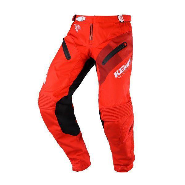Pantaloni MX-Enduro Kenny Pantaloni Titanium Red S20