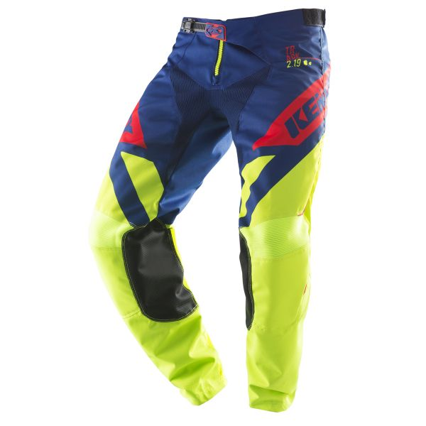 Pantaloni MX-Enduro Kenny Pantaloni Track Lime/Navy/Red S9