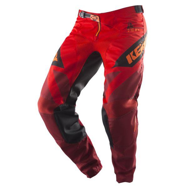 Pantaloni MX-Enduro Kenny Pantaloni Track Red S9