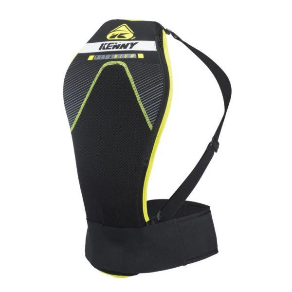 Protectii Piept-Spate Kenny Protectie Spate Moto MX Titanium Black/Yellow 2019