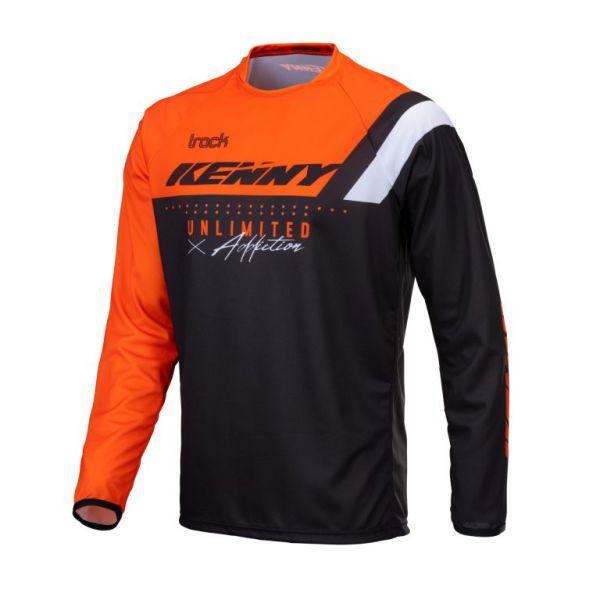 Tricouri MX-Enduro Copii Kenny Tricou Moto Copii MX Track Focus Orange 2021