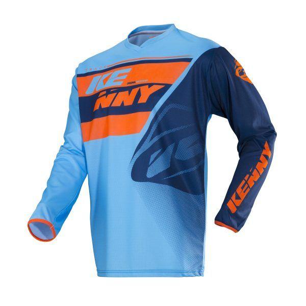 Tricouri MX-Enduro Kenny Tricou Track Blue/Orange S18