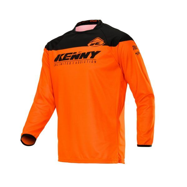Tricouri MX-Enduro Kenny Tricou Track Raw Neon Orange S20