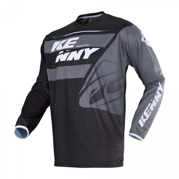 Tricouri MX-Enduro Kenny Tricou Track S8 Adult Black