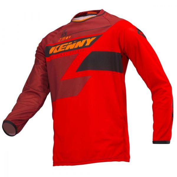 Tricouri MX-Enduro Copii Kenny Tricou MX Copii Track Full Red S19