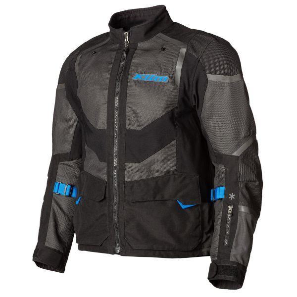 Geci Moto Textil Klim Geaca Moto Textil Touring Baja S4 Black/Kinetik Blue 2021