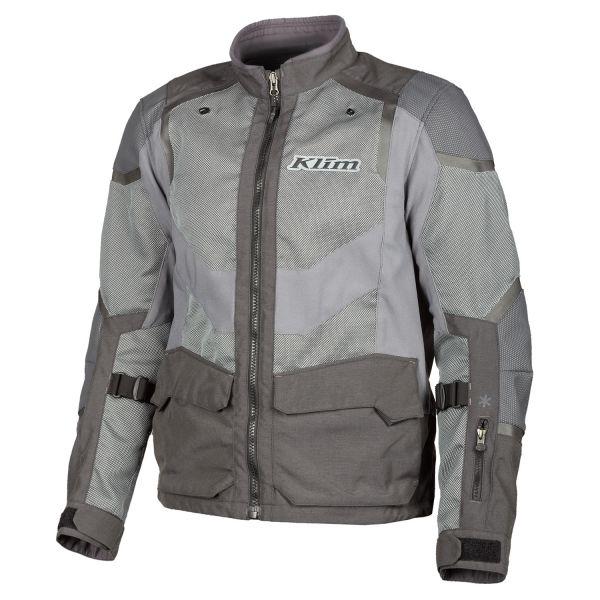 Geci Moto Textil Klim Geaca Moto Textil Touring Baja S4 Monument Gray 2021