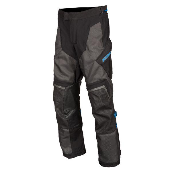 Pantaloni Textil Klim Baja S4 Pant Black - Kinetik Blue 2020