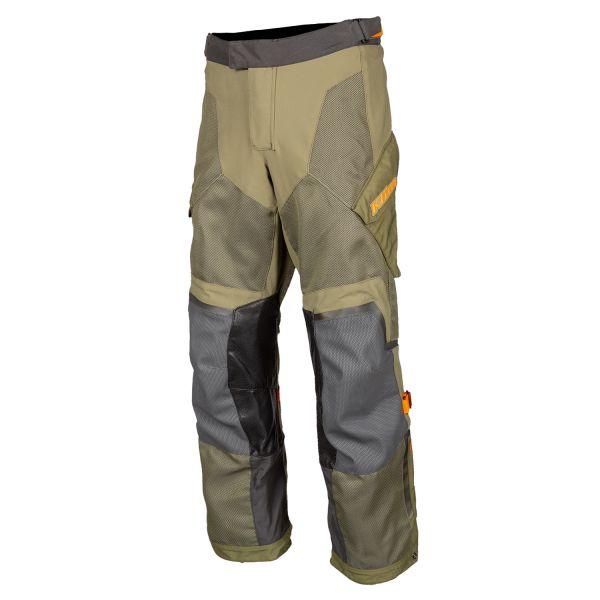 Pantaloni Textil Klim Baja S4 Pant Tall Sage - Strike Orange 2020
